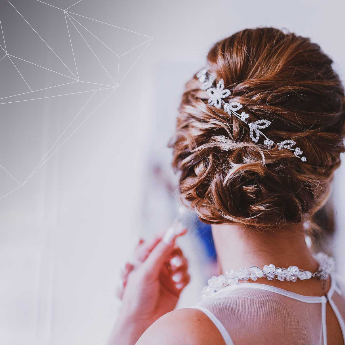 Favorite Pinned Back Tousled Waves Bridal Hairstyles Regarding It's Wedding Season! Check Out These Trending Wedding Hairstyles (View 13 of 20)
