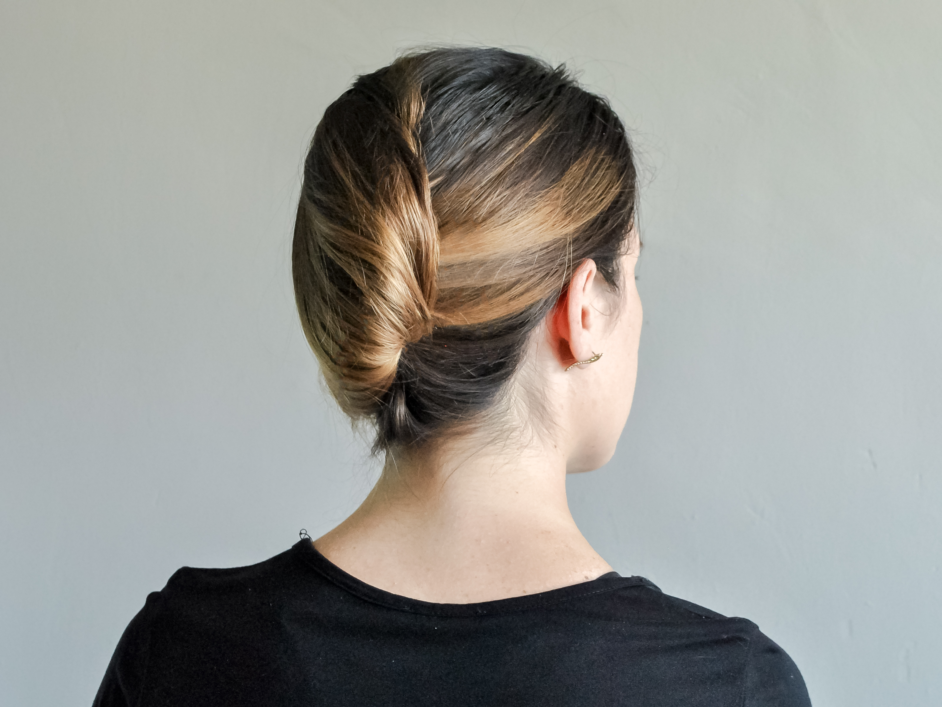 Favorite Sleek French Knot Hairstyles With Curls In How To Make French Knot Easy Way Hair Style: 11 Steps (View 2 of 20)