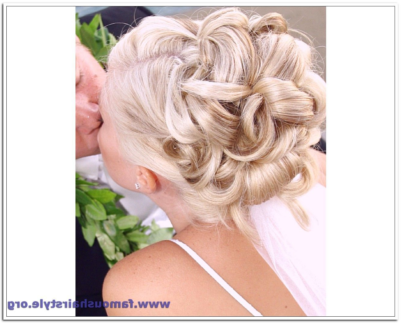 Favorite Swirled Wedding Updos With Embellishment Within Hair Updos For Weddings – Bing Images #weddinghairvintage (Gallery 10 of 20)