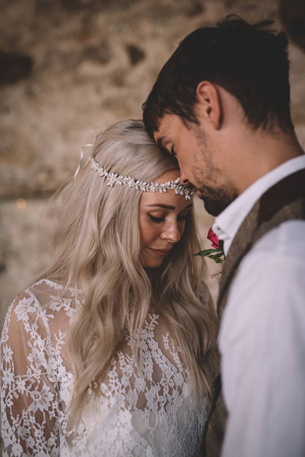 Free Spirited Woodland Bohemian Wedding Ideas At Camp Katur In Favorite Bohemian And Free Spirited Bridal Hairstyles (Gallery 7 of 20)