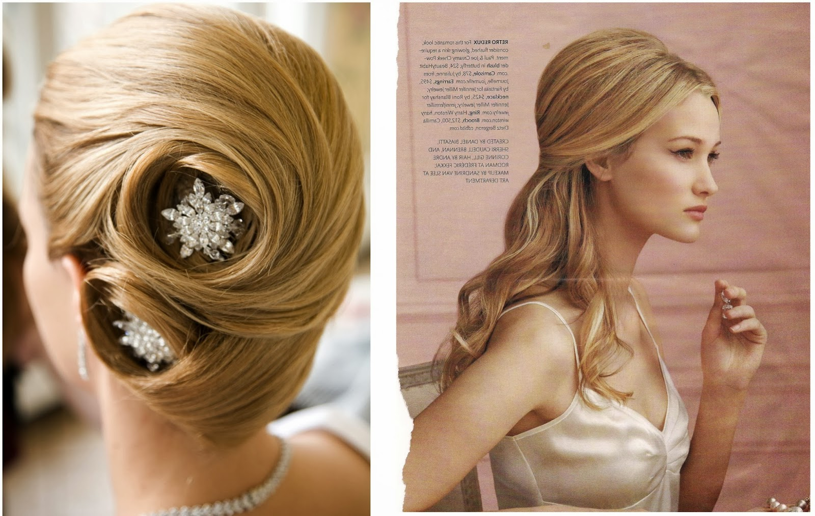 Girl Hairstyle 2017: Best Hairstyles For Long Hair Wedding : Hair In Latest Wedding Semi Updo Bridal Hairstyles With Braid (Gallery 19 of 20)