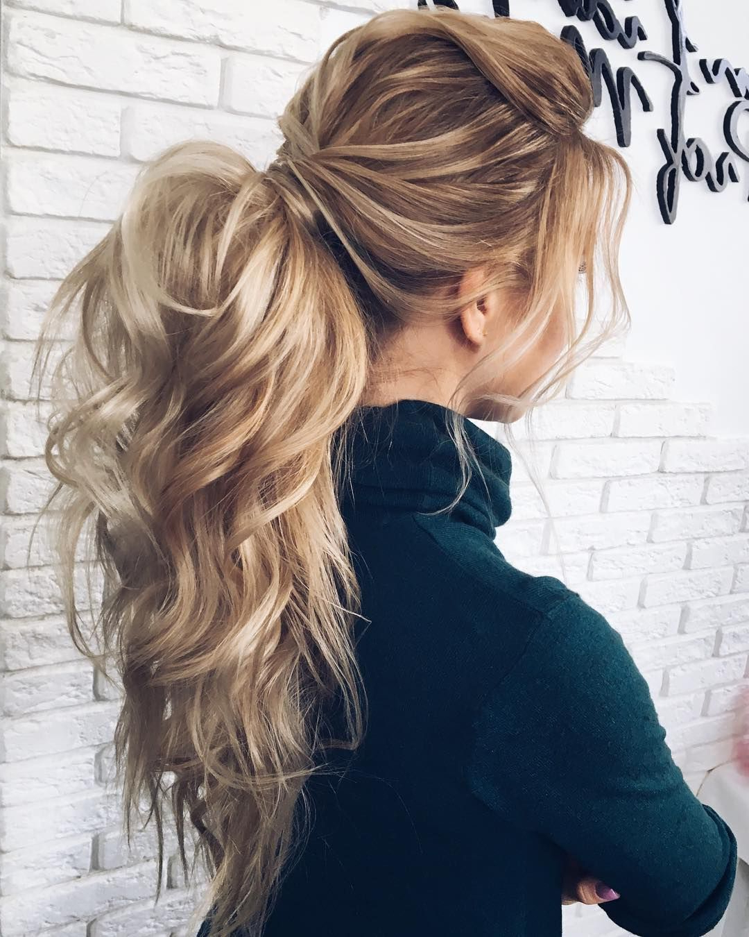 Gorgeous Ponytail Hairstyle Ideas That Will Leave You In Fab Intended For Famous Voluminous Half Ponytail Bridal Hairstyles (View 6 of 20)