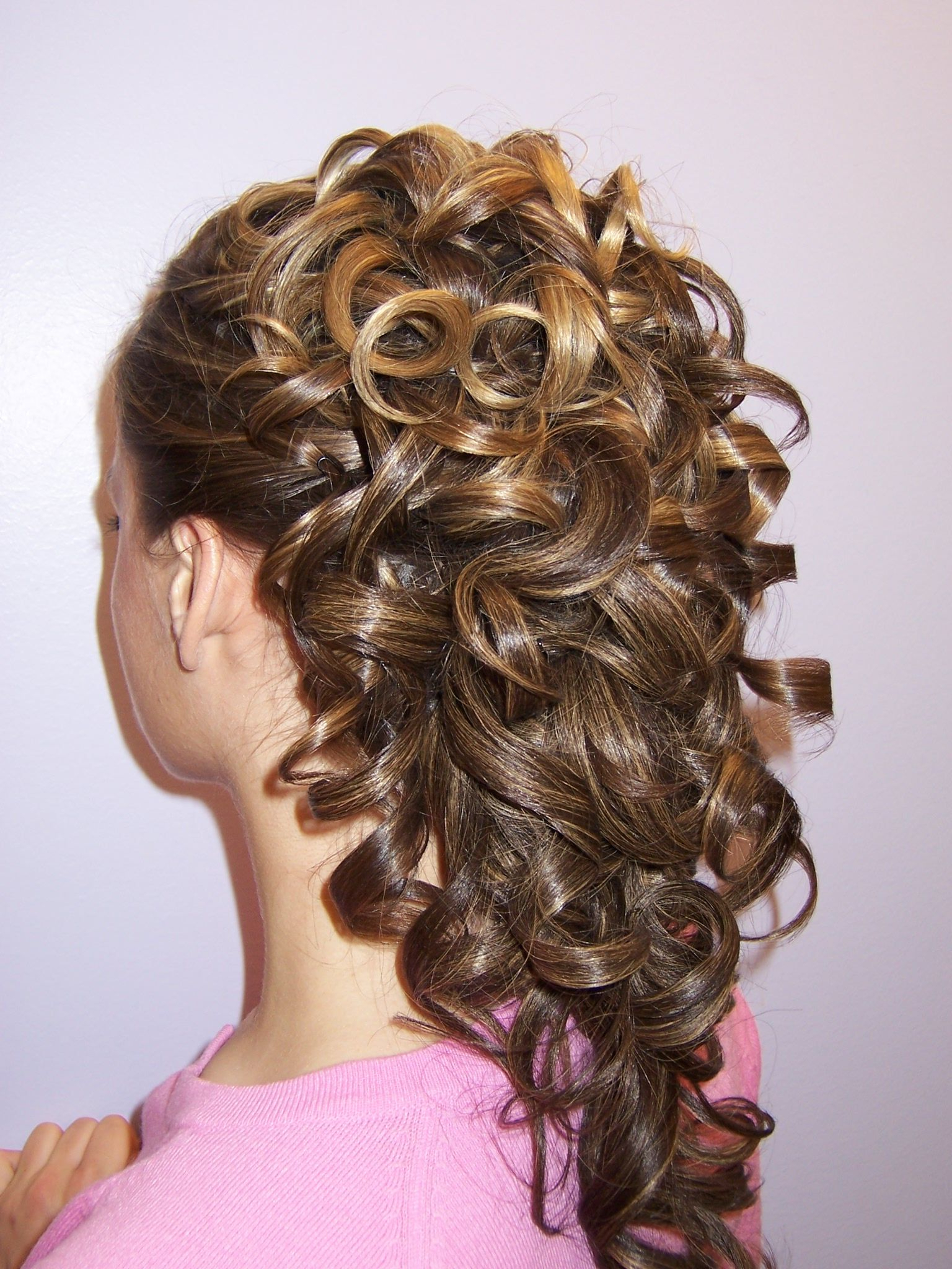 Hair & Beauty That I Love In Preferred Fabulous Cascade Of Loose Curls Bridal Hairstyles (View 4 of 20)
