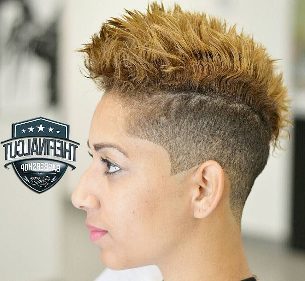 Hair Ideas Within Most Popular Short Hair Wedding Fauxhawk Hairstyles With Shaved Sides (View 9 of 20)
