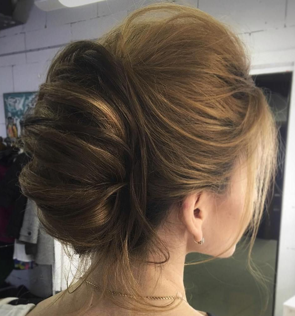 Hair Styles, French Throughout Favorite Voluminous Chignon Wedding Hairstyles With Twists (View 13 of 20)