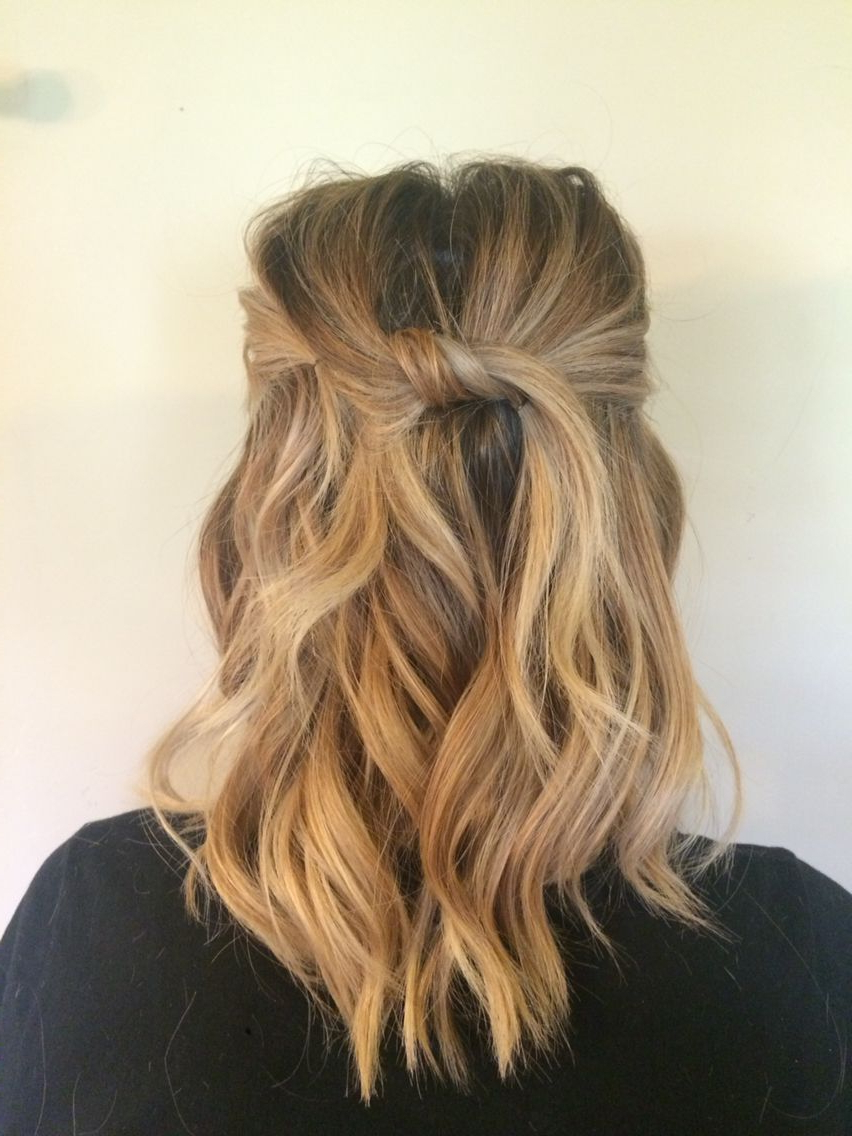 Hair With Favorite Soft Shoulder Length Waves Wedding Hairstyles (View 13 of 20)