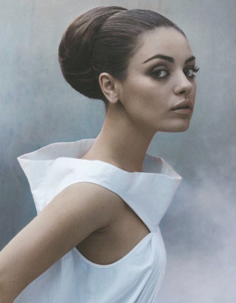 Hair With Regard To Newest Sleek Low Bun Rosy Outlook Wedding Updos (View 10 of 20)