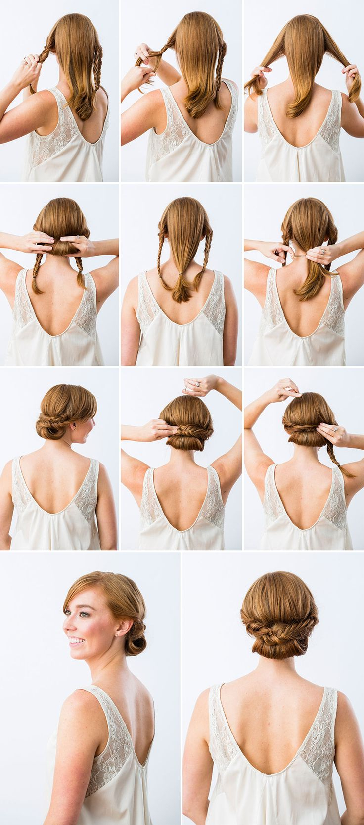 Hairstyle Ideas Regarding Most Recent Simplified Waterfall Braid Wedding Hairstyles (View 17 of 20)
