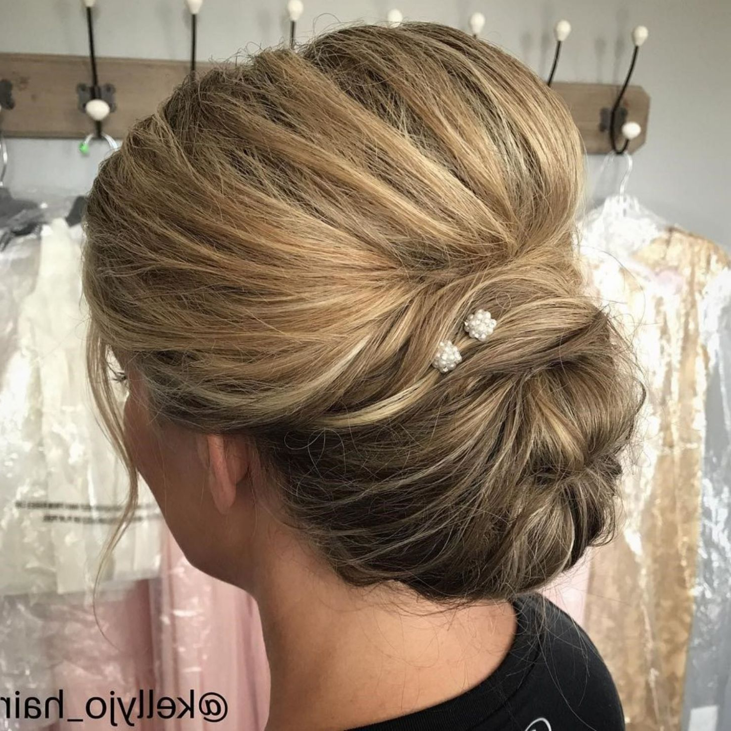Hairstyles For Favorite Bouffant And Chignon Bridal Updos For Long Hair (Gallery 4 of 20)