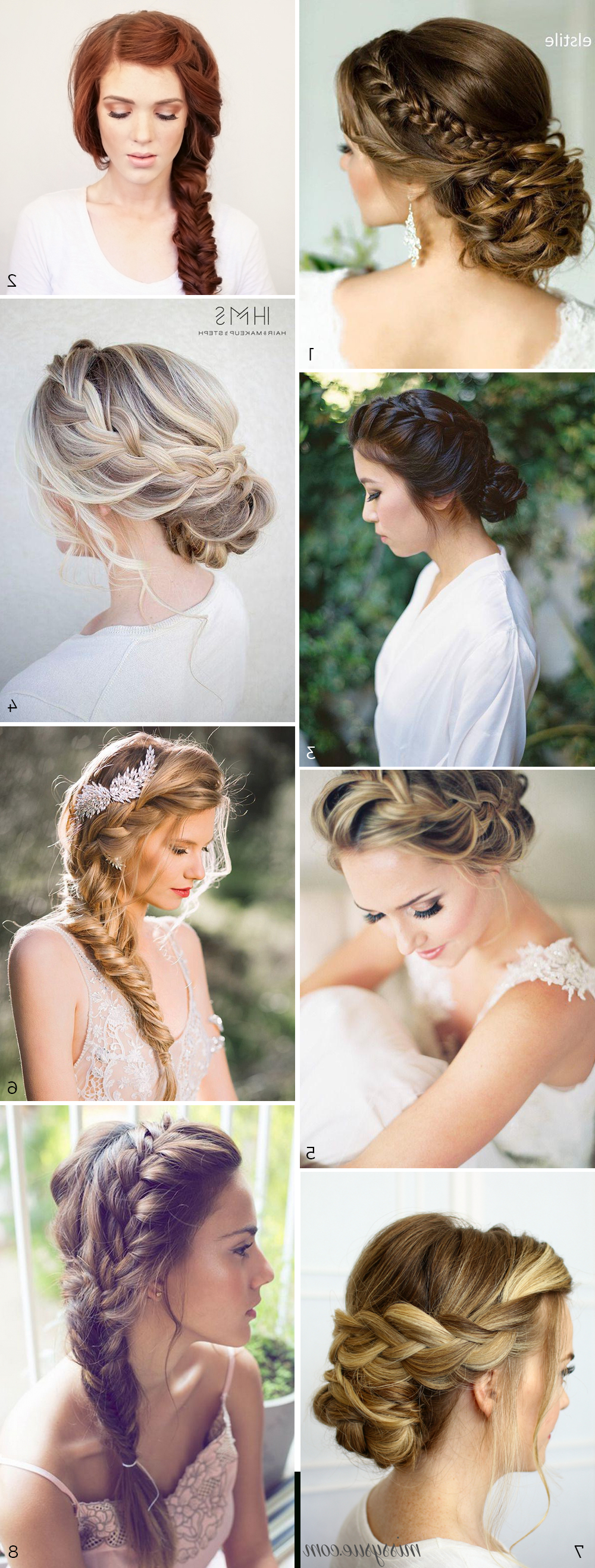 Hairstyles For The In Most Popular Tender Bridal Hairstyles With A Veil (View 5 of 20)