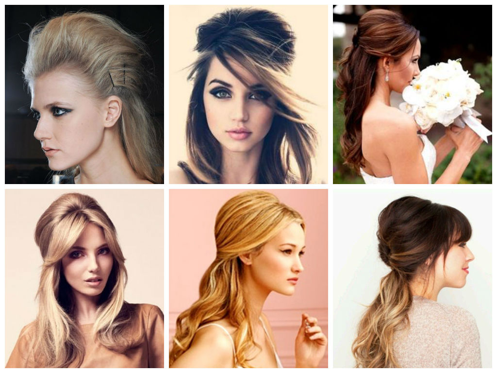 Half Up Half Down Wedding Day Hairstyles – Hair World Magazine Inside Most Popular Semi Bouffant Bridal Hairstyles With Long Bangs (View 9 of 20)