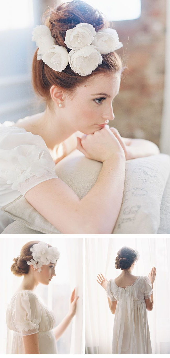 Headpieces Designederica Elizabeth Designs – Tender Fascination With Fashionable Tender Bridal Hairstyles With A Veil (View 6 of 20)