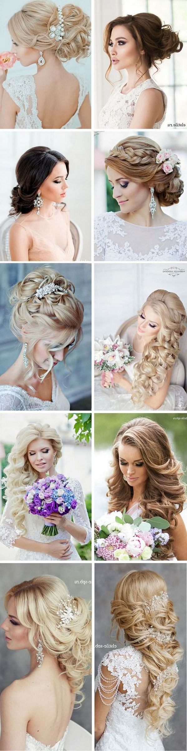 Hi Inside Preferred Mermaid Inspired Hairstyles For Wedding (View 15 of 20)