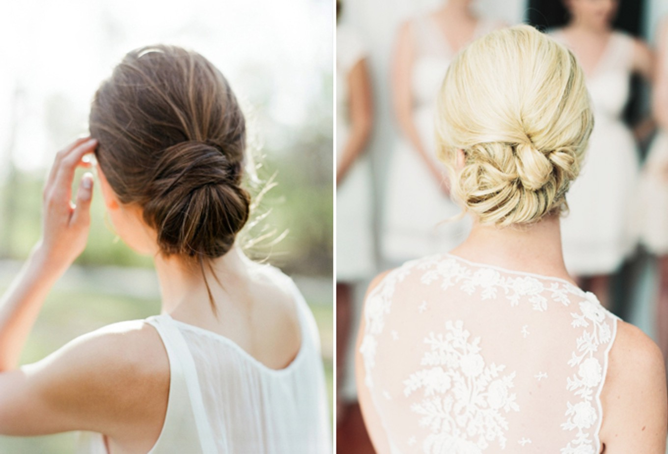 How To Choose The Right Hairstyle For Your Wedding Day – Bridestory Blog In Most Up To Date Sleek Low Bun Rosy Outlook Wedding Updos (View 11 of 20)