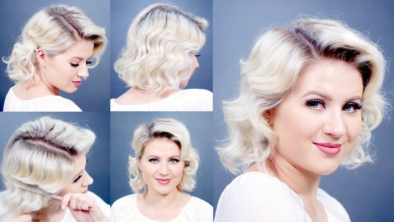 How To: Retro Finger Waves Short Hairstyles (Gallery 3 of 20)