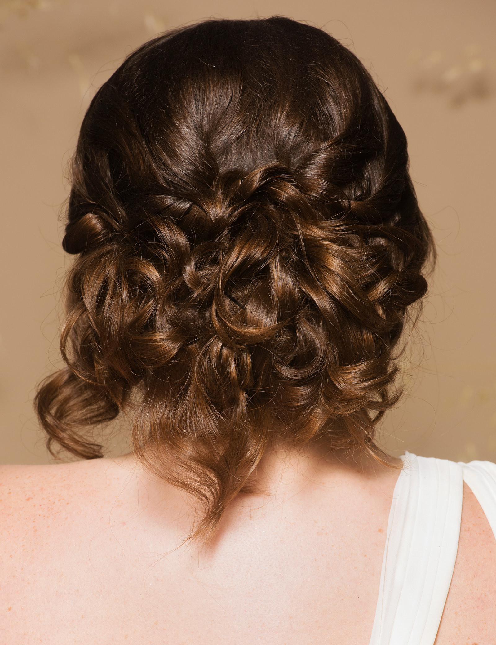 I'm A Bride Whose Hair Is A Jerk, And I Found 3 Hairstyles Even I Within 2018 Loose Updo Wedding Hairstyles With Whipped Curls (View 13 of 20)