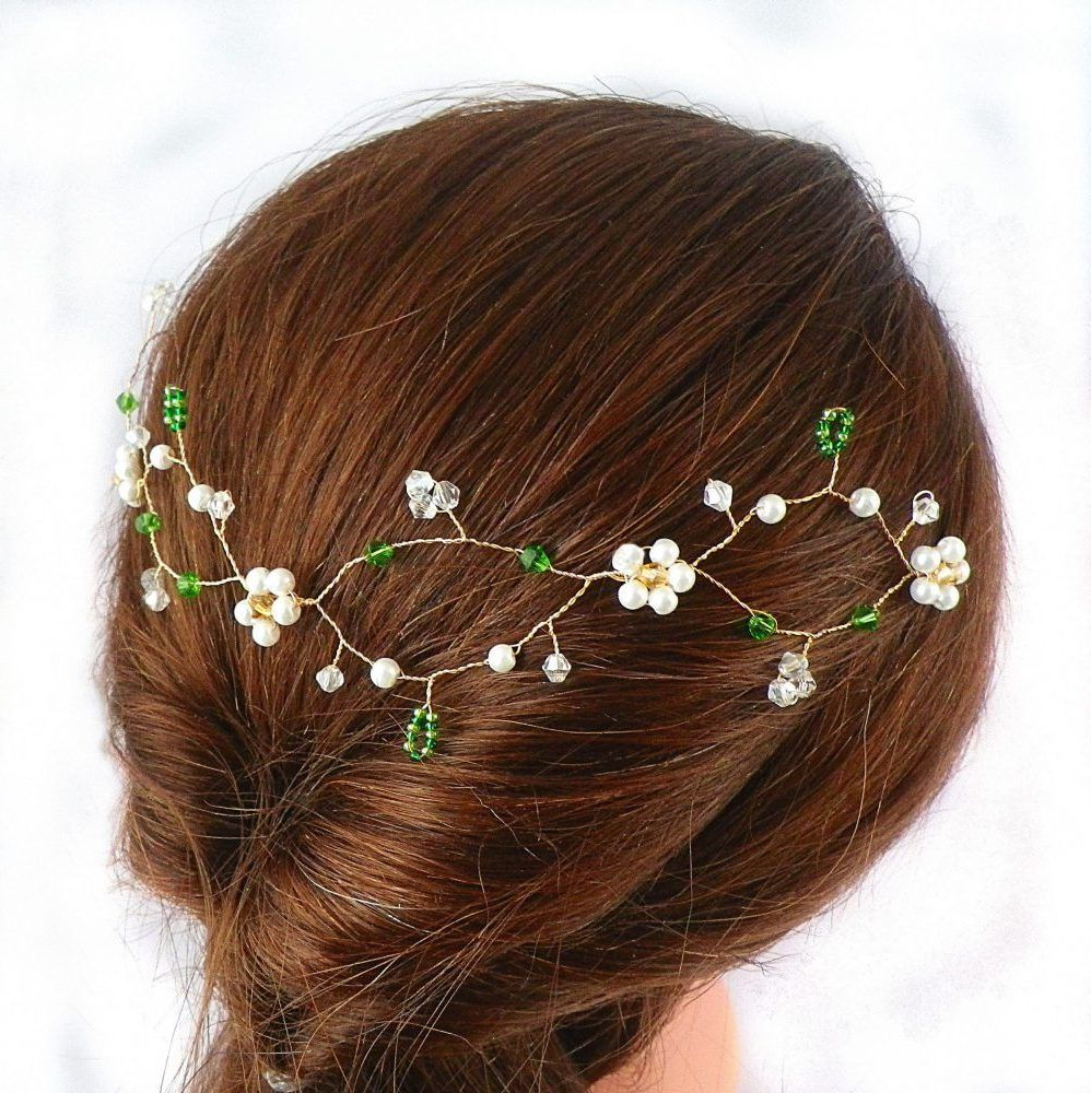 Infinity Hair Vine – Flower Hair Vines (Gallery 3 of 20)