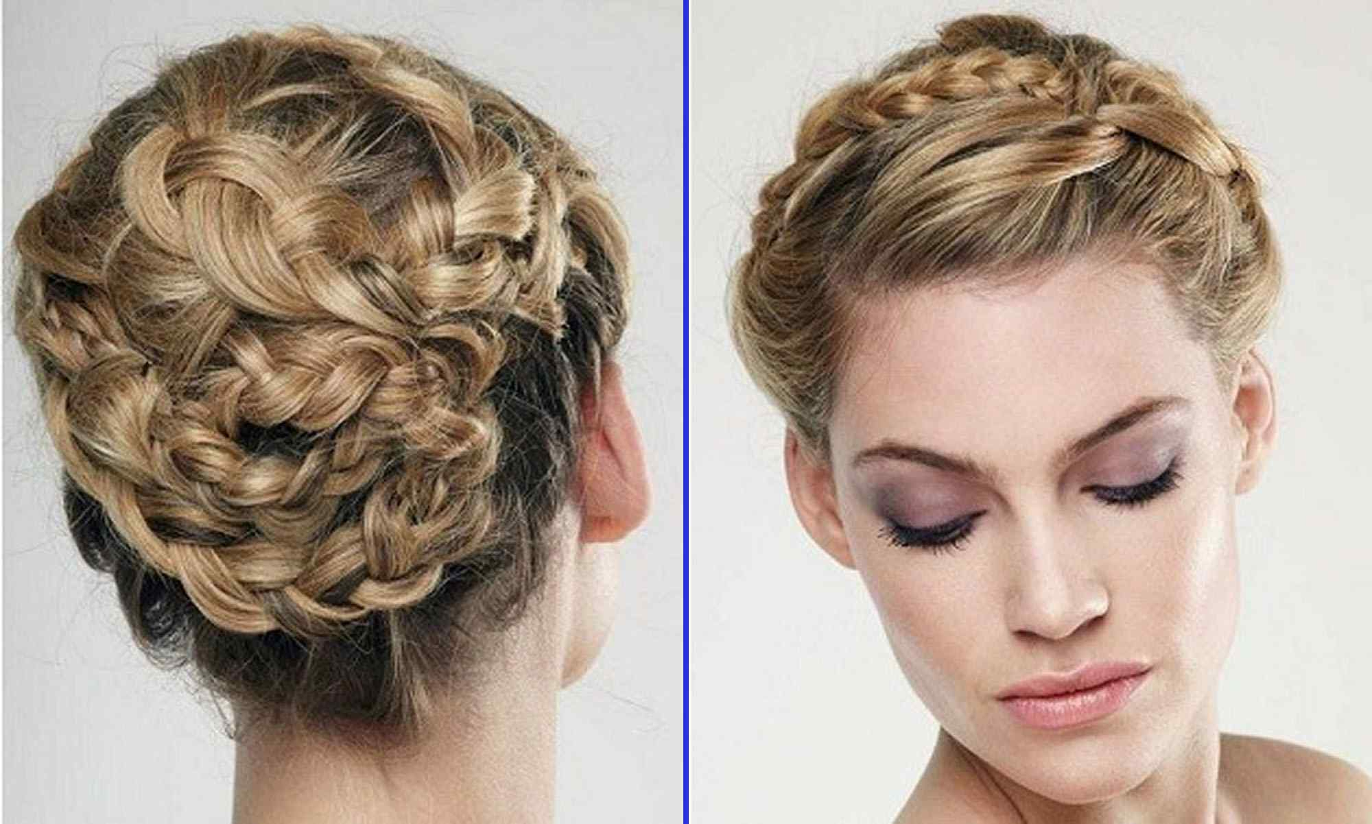 Latest Braided Bob Short Hairdo Bridal Hairstyles With Wedding Hairstyles For Short Hair Bob Bridesmaid Curls Unique Short (Gallery 6 of 20)