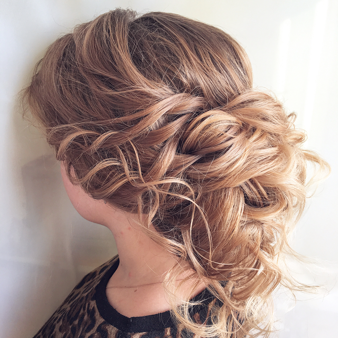 Latest Elegant Bridal Hairdos For Ombre Hair Throughout 10 Lavish Wedding Hairstyles For Long Hair – Wedding Hairstyle Ideas (View 18 of 20)