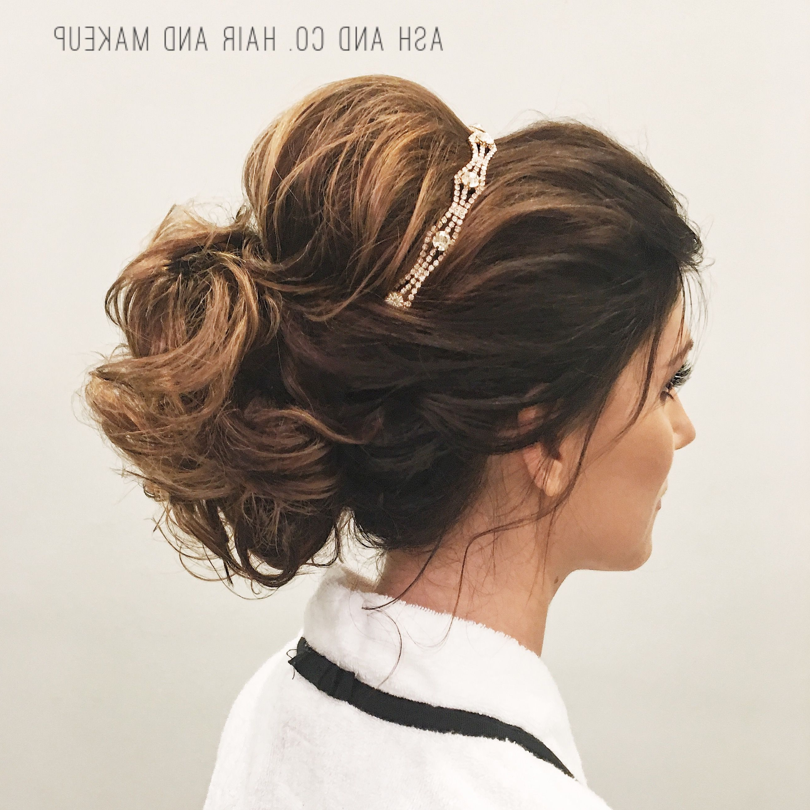 Latest Formal Bridal Hairstyles With Volume Throughout Bridal Hair Ideas, Soft Updo, Updo With Volume, Wedding Hairstyles (View 14 of 20)
