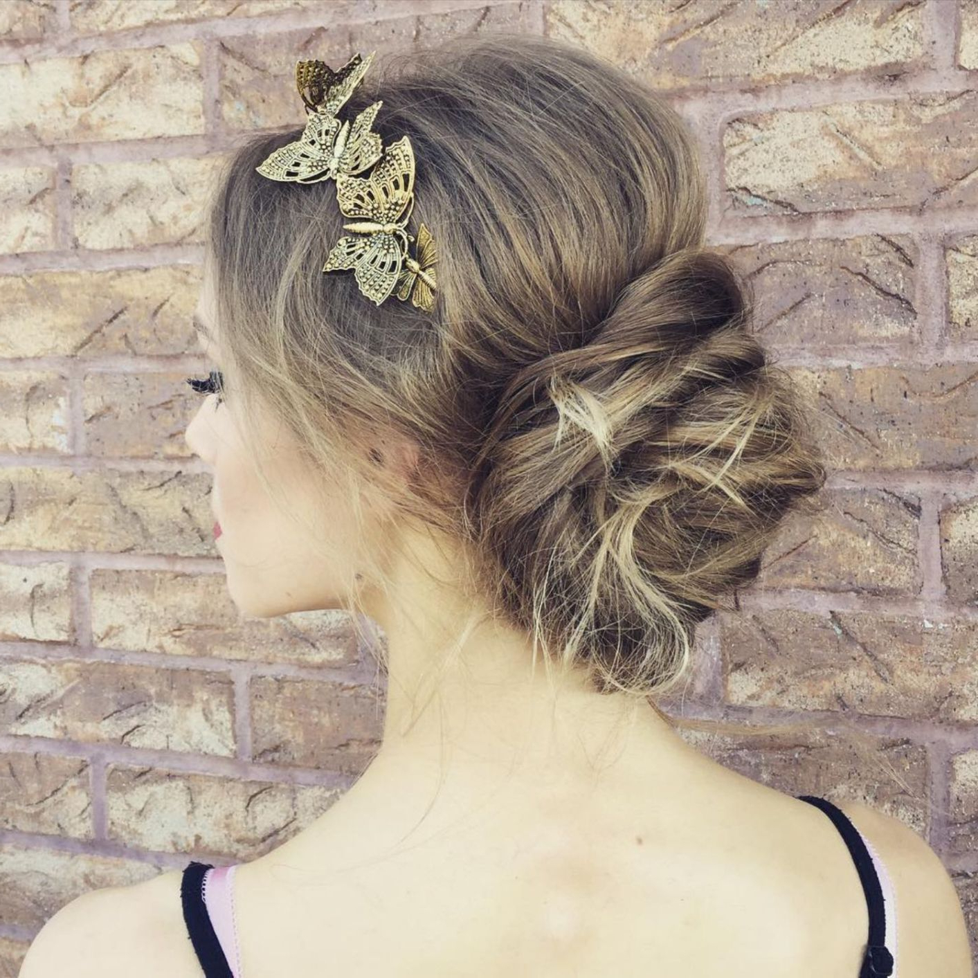 Latest Low Messy Bun Wedding Hairstyles For Fine Hair With Regard To 60 Updos For Thin Hair That Score Maximum Style Point In 2018 (Gallery 3 of 20)