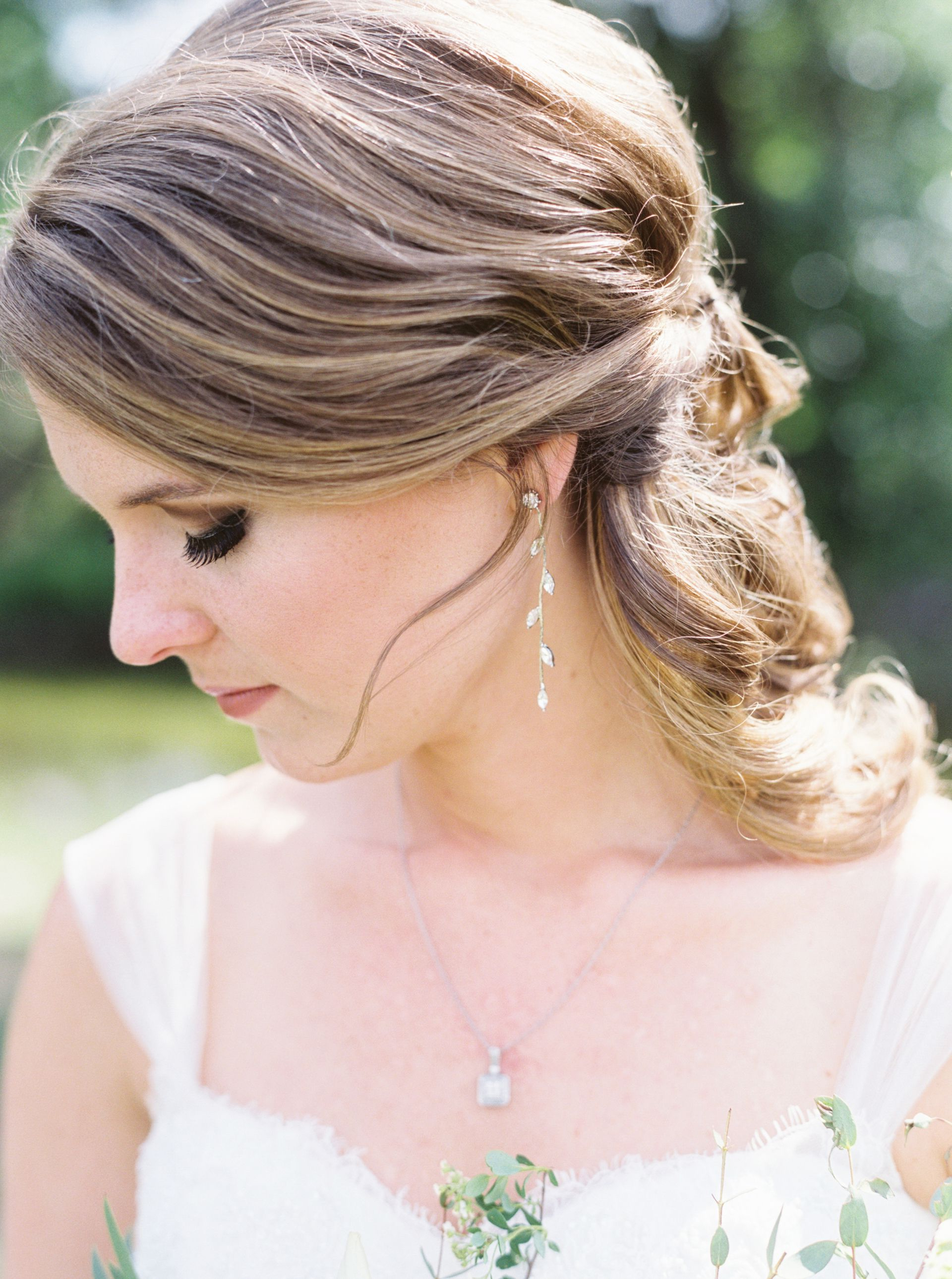 Latest Romantic Bridal Hairstyles For Natural Hair For Pastel Spring Wedding At Vista West Ranch (View 12 of 20)