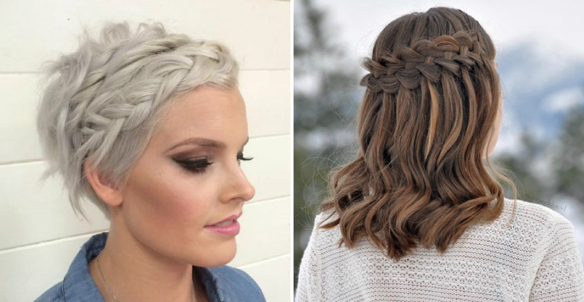 Latest Short Wedding Hairstyles With A Swanky Headband Throughout 29 Swanky Braided Hairstyles To Do On Short Hair – Wild About Beauty (View 14 of 20)
