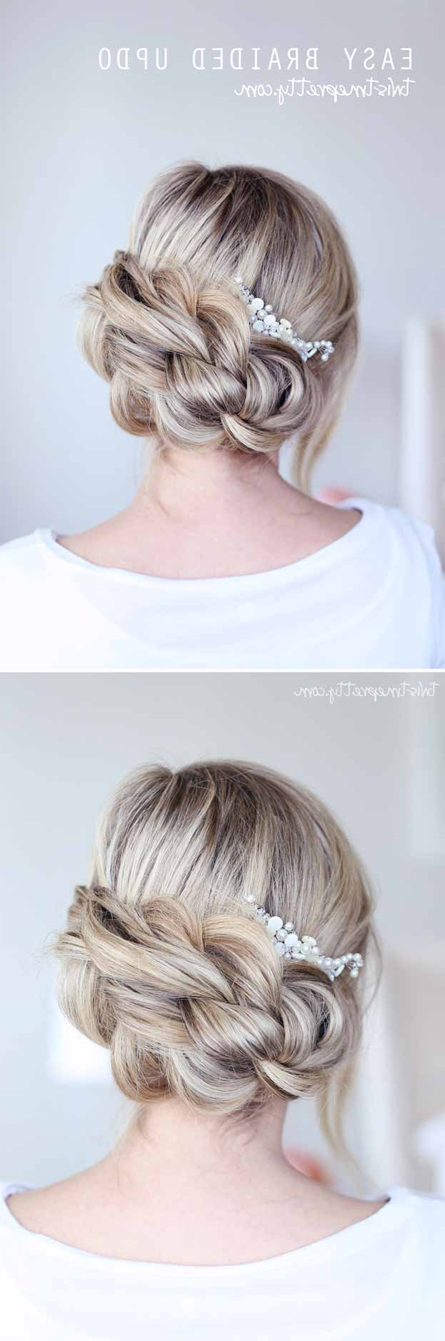 Latest Simple And Cute Wedding Hairstyles For Long Hair Throughout 31 Wedding Hairstyles For Long Hair – The Goddess (Gallery 13 of 20)