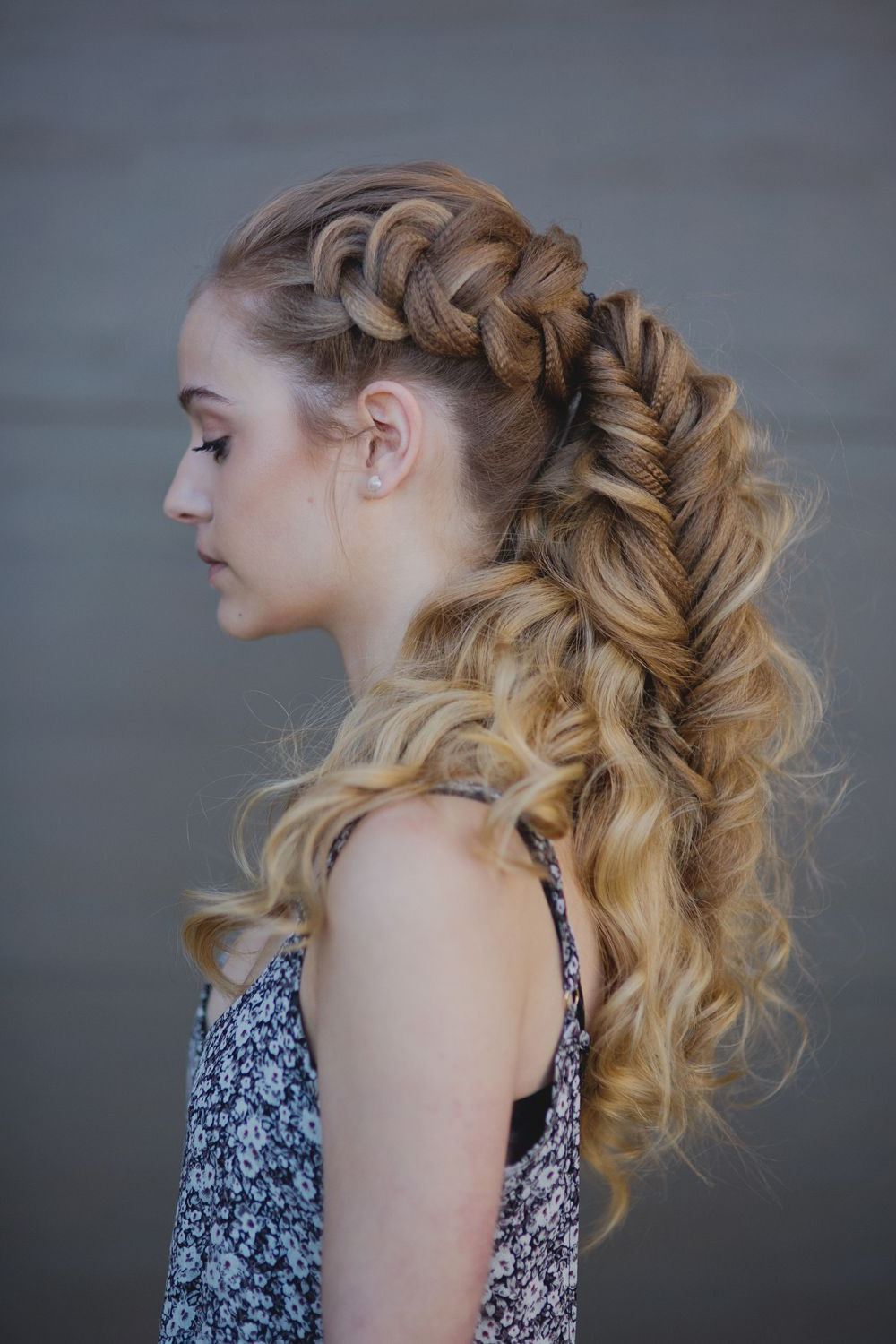 Latest Voluminous Bridal Hairstyles Inside How To Create A Voluminous Viking Braid (Gallery 10 of 20)