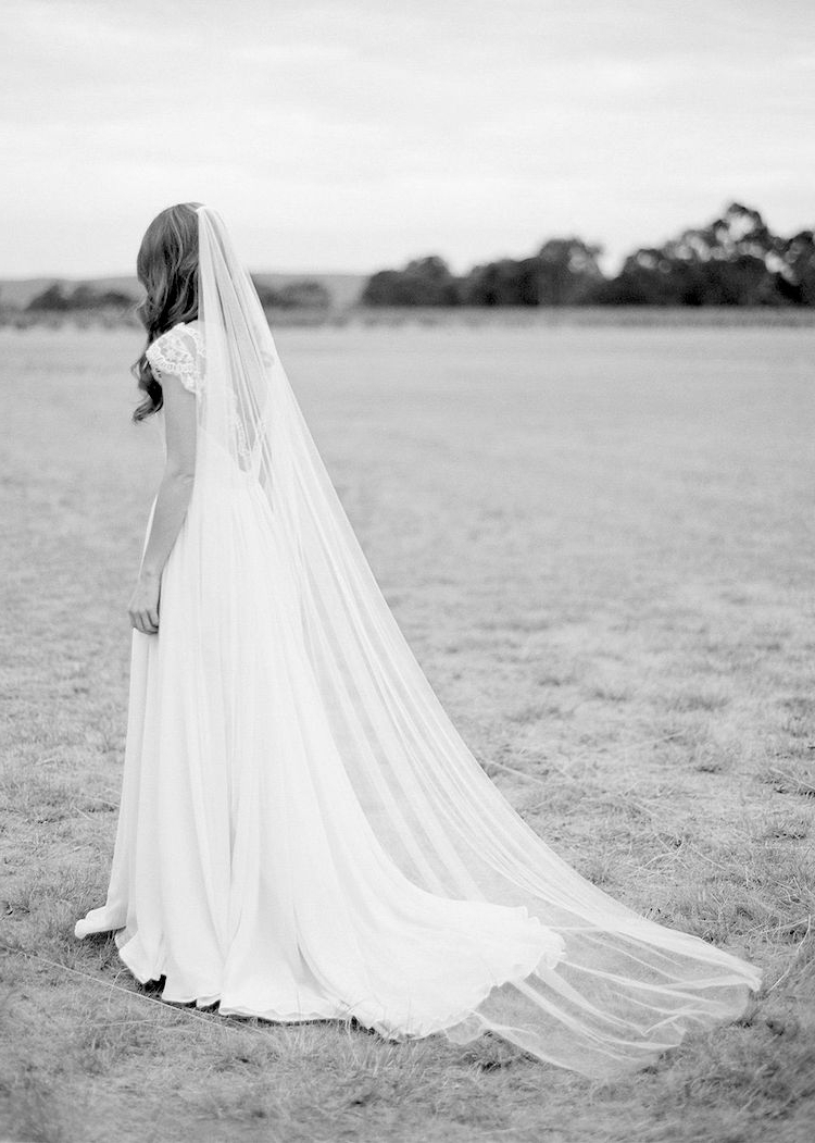 Long Wedding Veils (View 9 of 20)