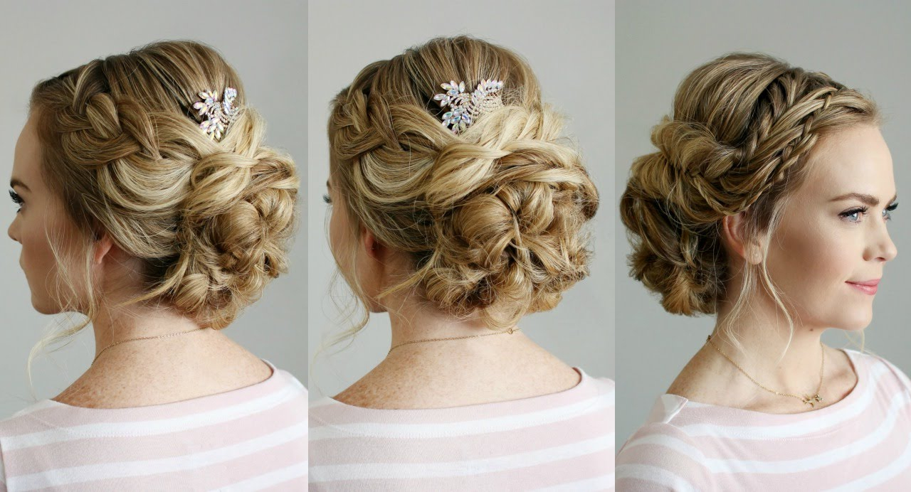 Missy Sue – Youtube In Well Known Embellished Twisted Bun For Brides (View 16 of 20)