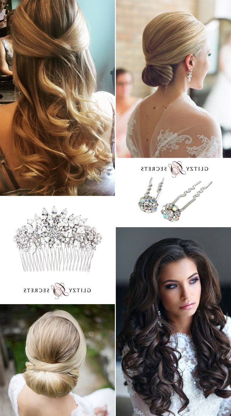 Most Current Classic Twists And Waves Bridal Hairstyles Inside Bridal Hairstyles: Classic Or Modern? – Glitzy Secrets (View 12 of 20)