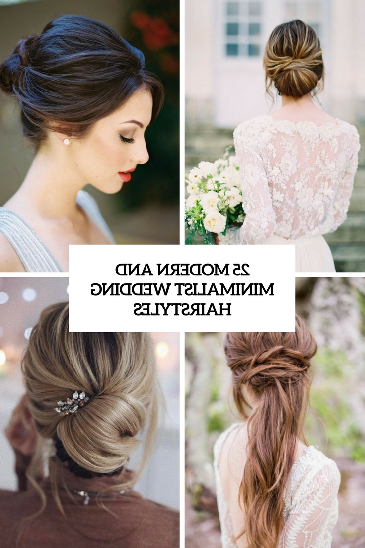Most Current Modern Updo Hairstyles For Wedding Within Wedding Hairstyles Archives – Weddingomania (View 12 of 20)