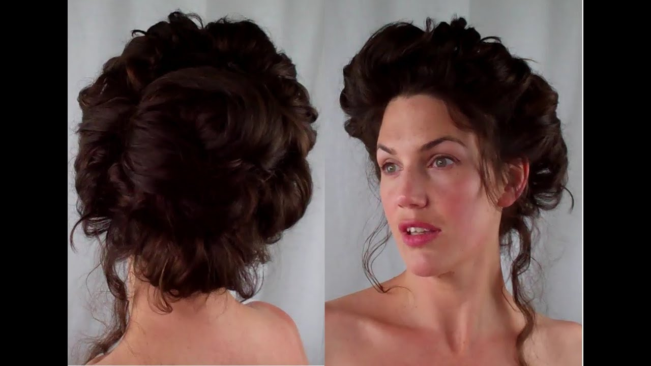 Most Current Pompadour Bun Hairstyles For Wedding For How To Gibson Girl Hair Edwardian/ Victorian Vintage Retro Hairstyle (View 8 of 20)