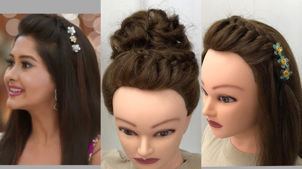 Most Current Sleek And Simple Wedding Hairstyles Intended For 3 Beautiful Hairstyles For Function: Easy Wedding Hairstyles – Youtube (View 13 of 20)