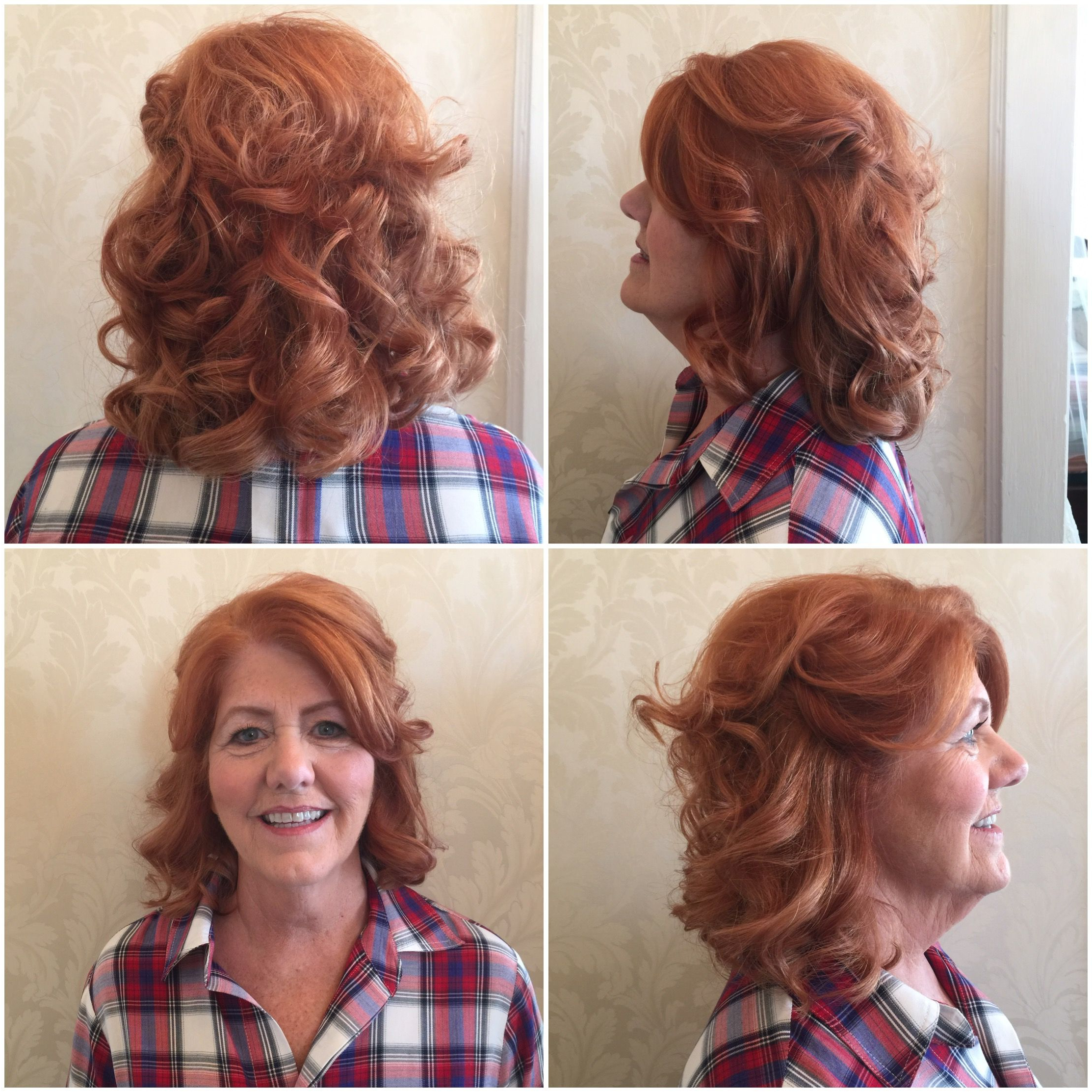 Most Current Soft Shoulder Length Waves Wedding Hairstyles Regarding Mother Of The Bride Mother Of The Groom Half Up Curls Waves Wedding (View 17 of 20)