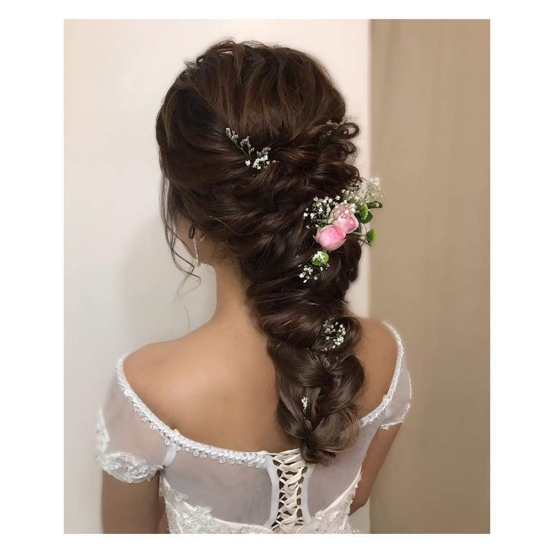Most Current Swirled Wedding Updos With Embellishment For 50+ Chic Wedding Hairstyles For The Perfect Bridal Look (View 16 of 20)