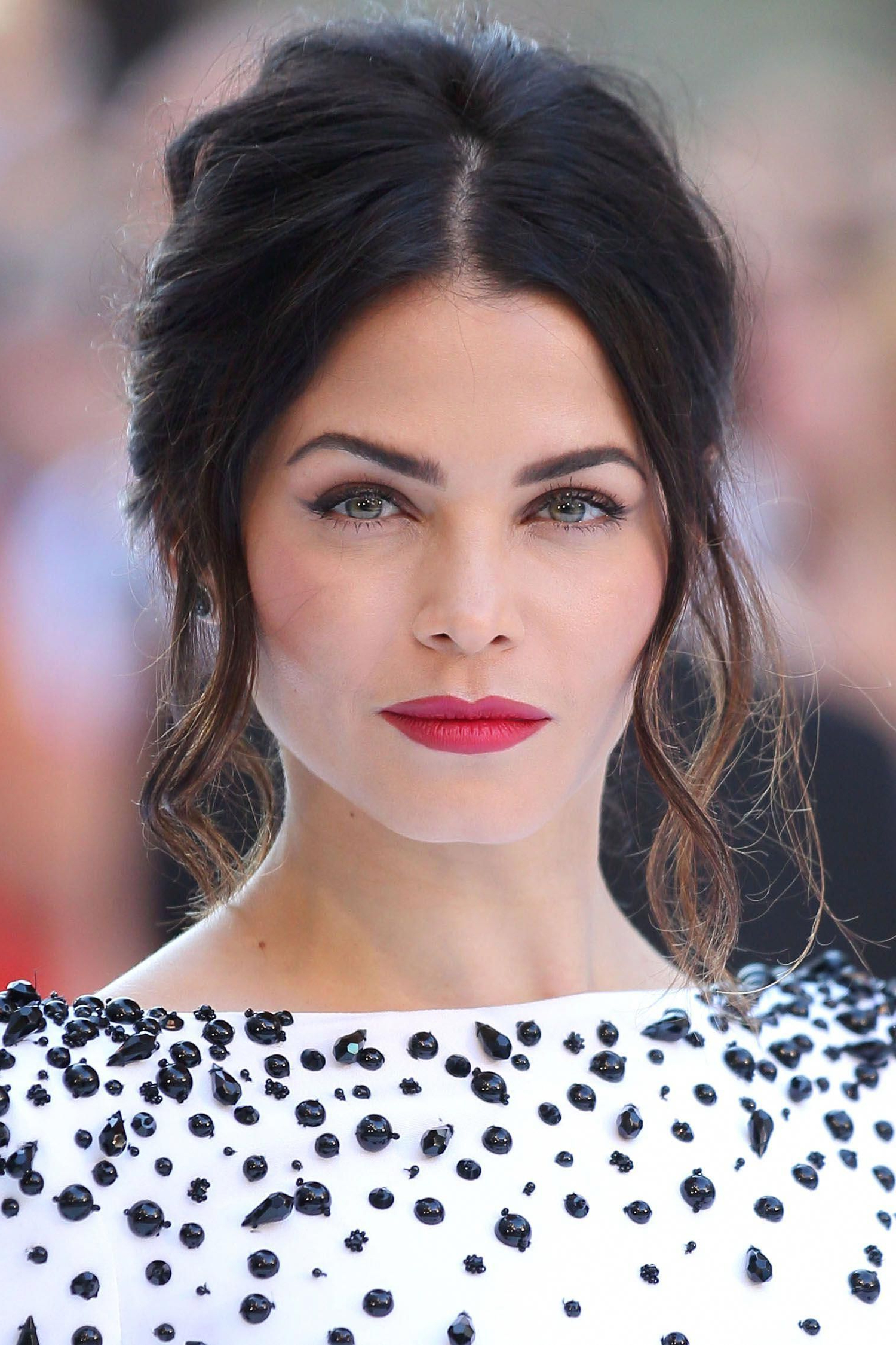 "Most Current Teased Wedding Hairstyles With Embellishment In Jenna Dewan Tatum Hairstylist Dayaruci Gave The Actress A ""french (View 7 of 20)"