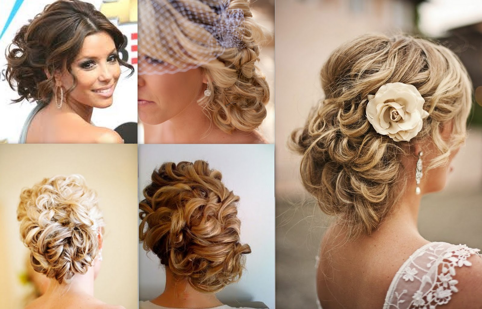 Most Popular Curly Bridal Bun Hairstyles With Veil Intended For Wedding Hairstyles Women (View 15 of 20)