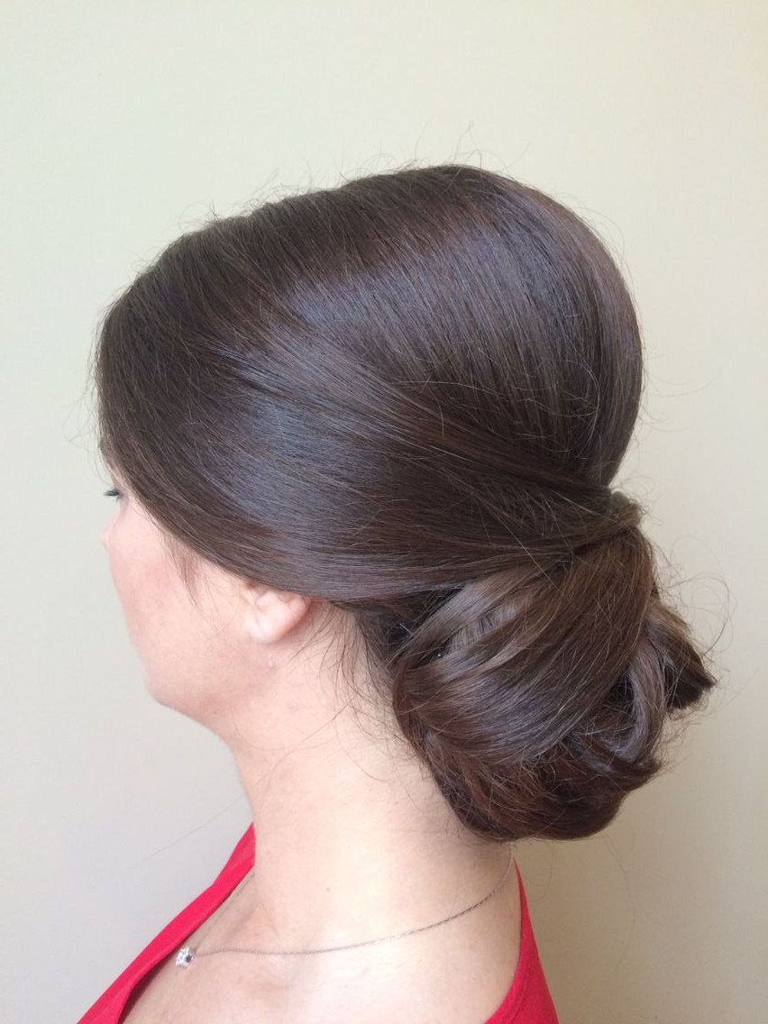 Most Popular Formal Bridal Hairstyles With Volume In Bride Bridesmaid Bridal Hairstyle Formal Updo Upstyle Sophisticated (View 15 of 20)