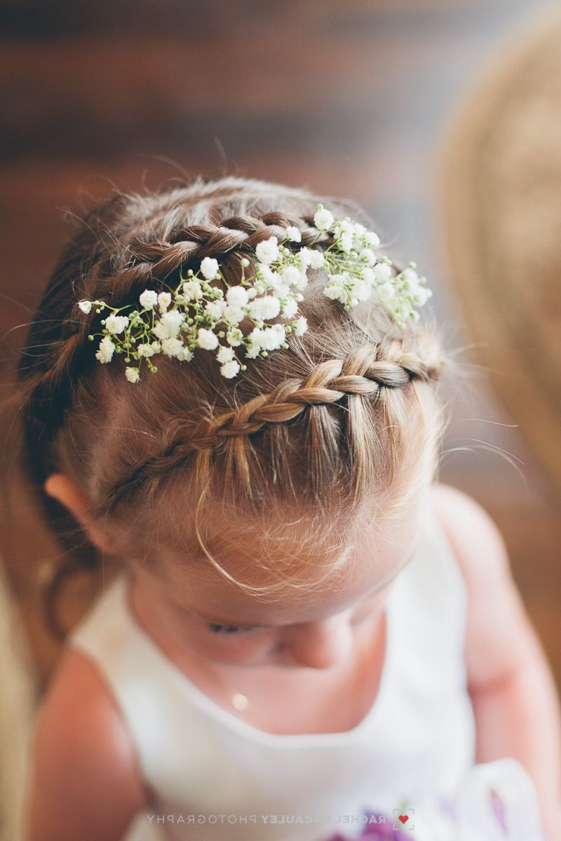 Most Popular French Twist Wedding Updos With Babys Breath Pertaining To Baby's Breath And Braids (View 11 of 20)