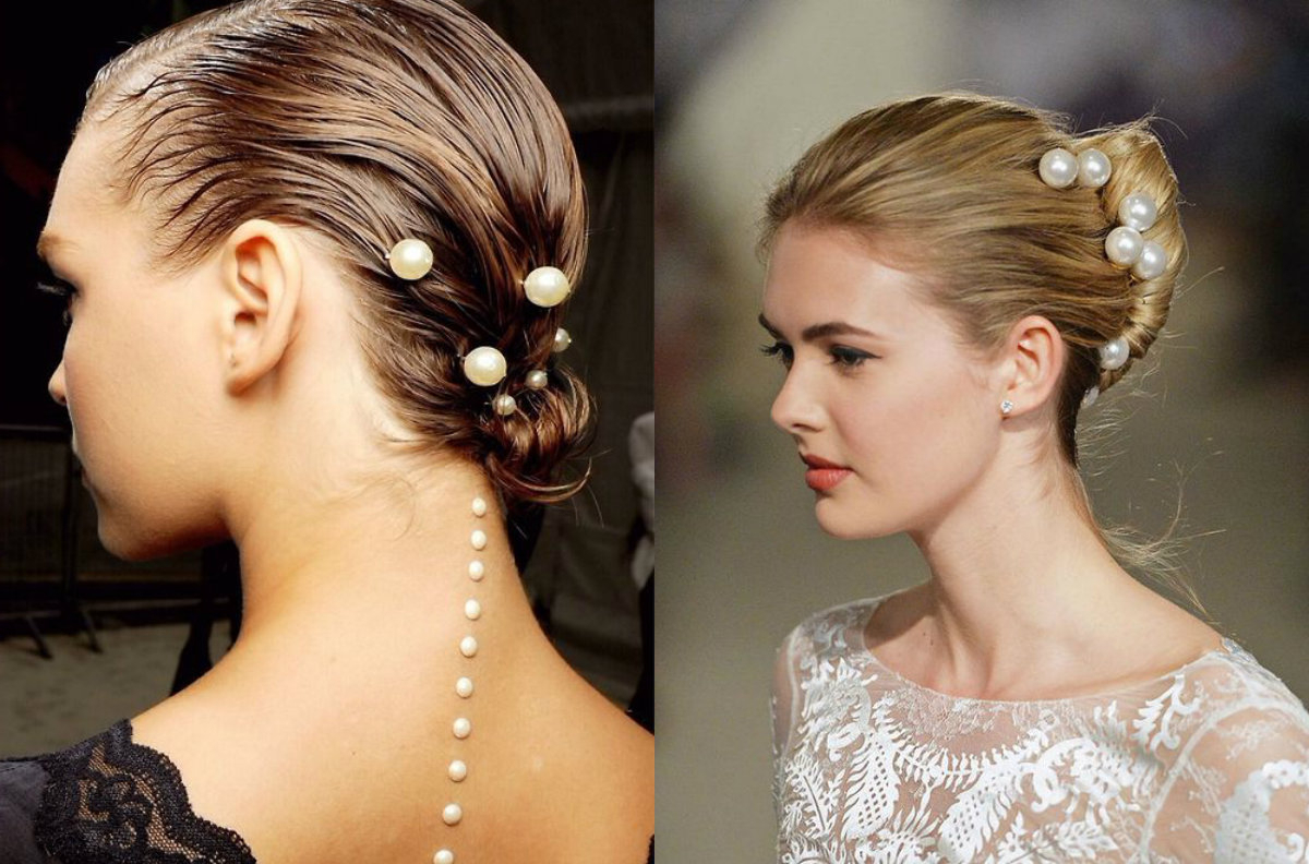Featured Photo of Pearls Bridal Hairstyles