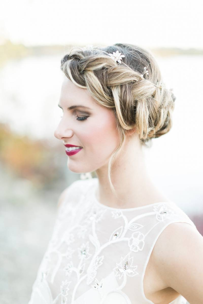 Most Recent Bohemian And Free Spirited Bridal Hairstyles Throughout Bohemian Brides (View 14 of 20)