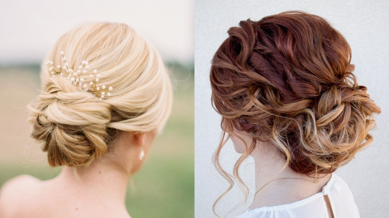 Most Recent Bridal Mid Bun Hairstyles With A Bouffant With Regard To 20 Most Beautiful Bridal Updos For Elegant Brides – Haircuts (View 15 of 20)