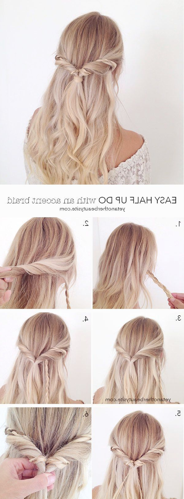 Most Recent Sleek And Simple Wedding Hairstyles For Simple Wedding Hairstyles Stepstep Wedding Hairstyles In (View 9 of 20)