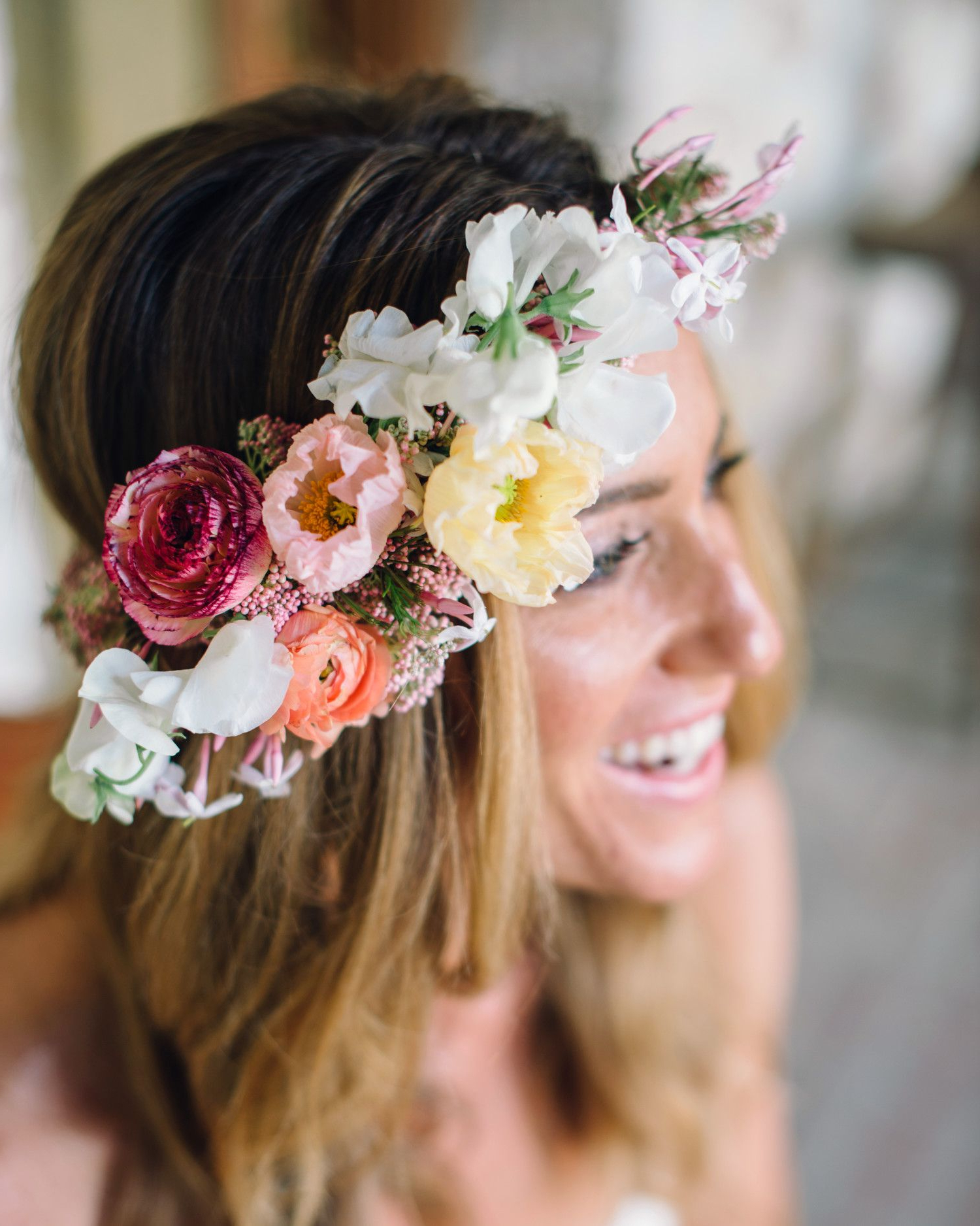 Most Recently Released Bohemian And Free Spirited Bridal Hairstyles With Regard To Boho Chic Wedding Ideas For Free Spirited Brides And Grooms (View 15 of 20)