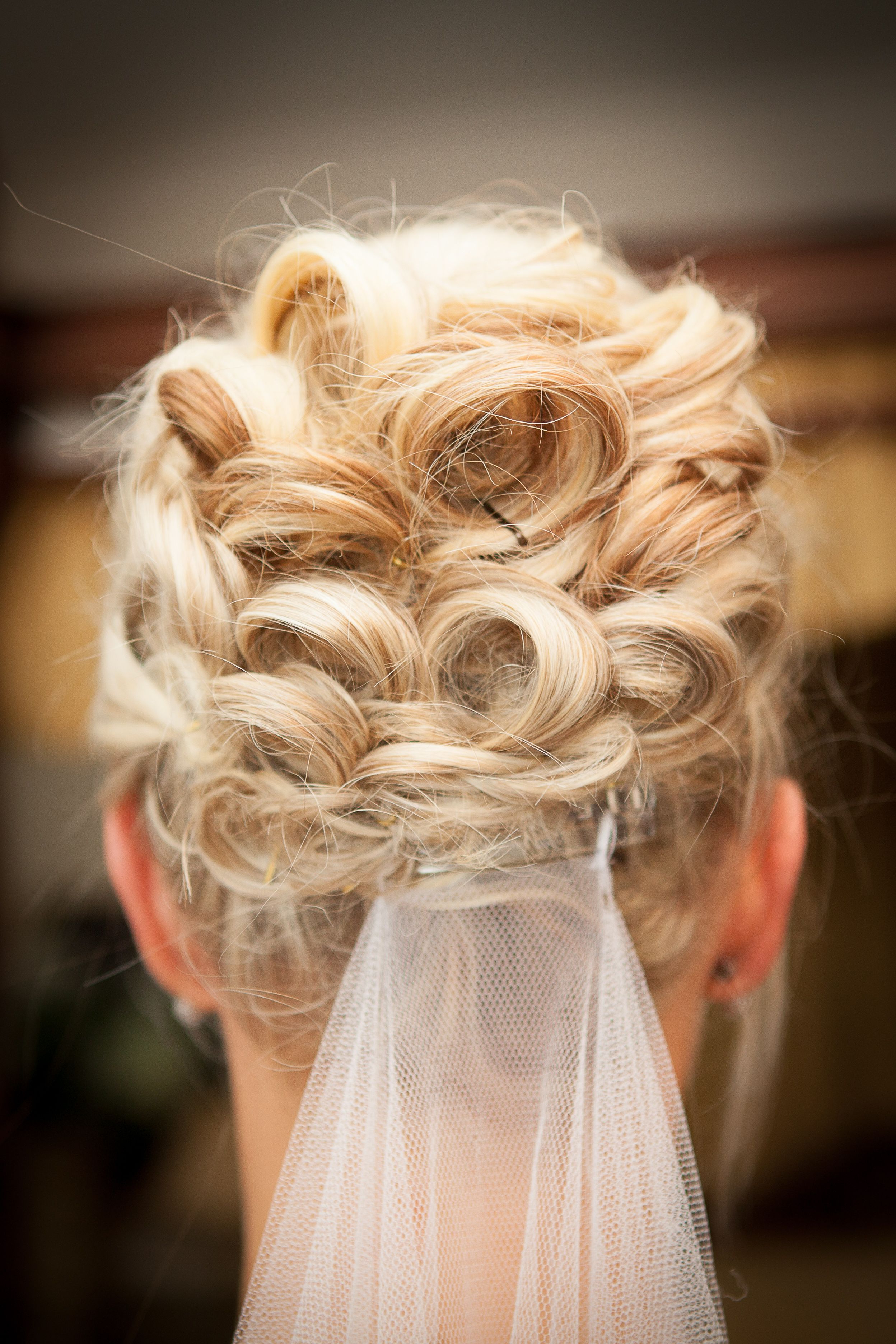 Most Recently Released Large Curly Bun Bridal Hairstyles With Beaded Clip Inside A Lovely Wedding Hair Up Do To Go For – Soft Curly Bun With A Low (View 10 of 20)
