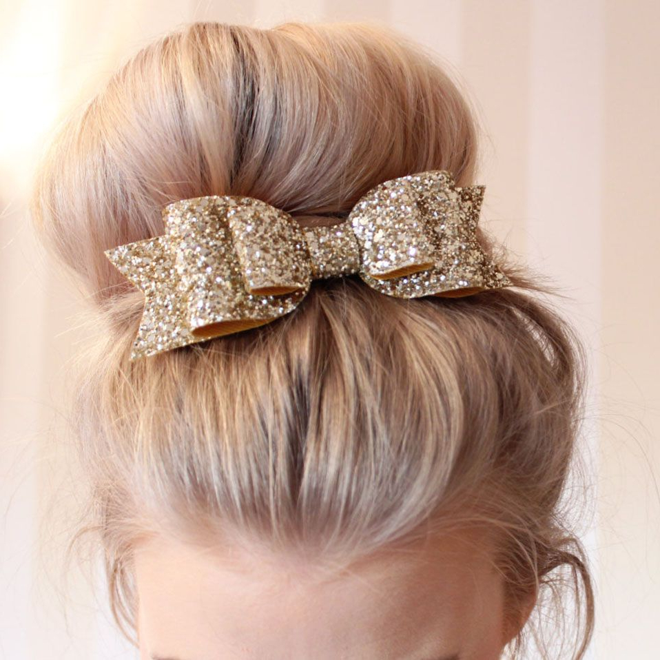 Most Recently Released Ponytail Bridal Hairstyles With Headband And Bow With Women Hair Accessories Korean Multicolor Satin Sequin Ribbon Hair (View 4 of 20)