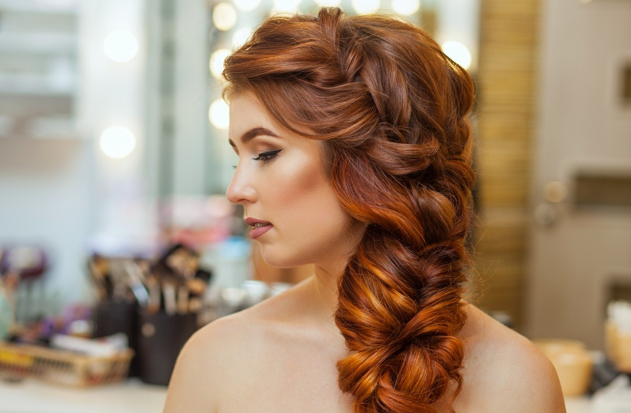 Most Recently Released Voluminous Side Wedding Updos Intended For 18 Side Hairstyles To Rock Any Day Of The Week (View 16 of 20)