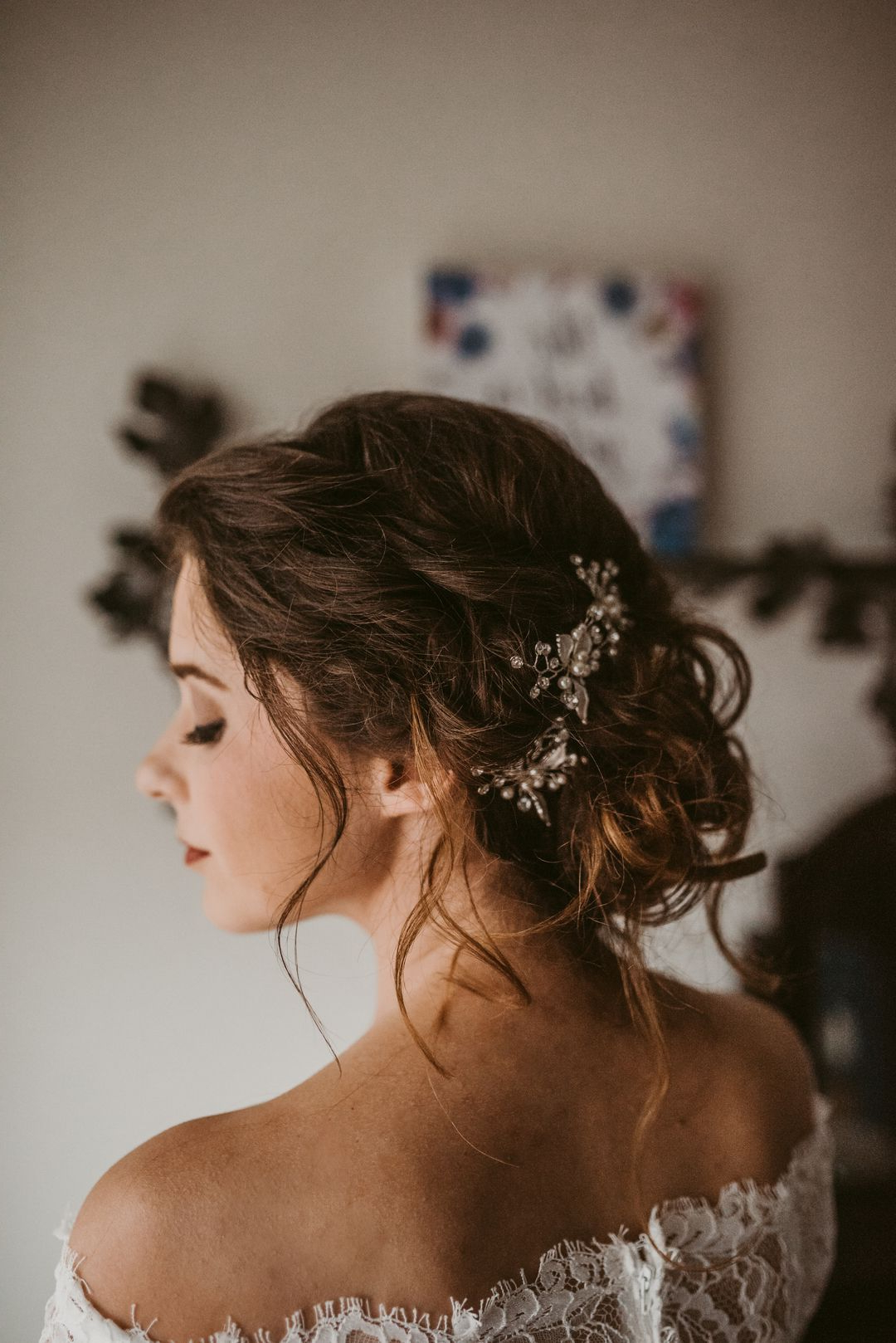 Featured Photo of Woven Updos With Tendrils For Wedding